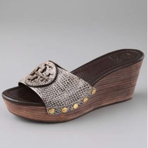 Tory Burch Patti Wedge Sandals